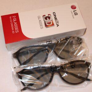 lg tv ag-f310(x2) ebx61668501 two pair 3d glasses